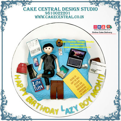 Bed Cake for a Lazy Friend in Delhi Online