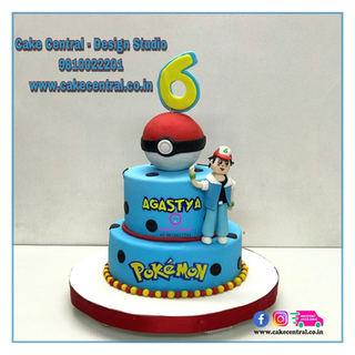 Pokemon Cake | Pokemon Birthday Cake Online cake delivery Delhi ,South Delhi, Gurgaon ,Noida