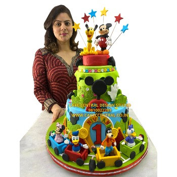 mickey mouse clubhouse cake in delhi online