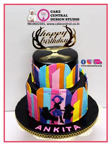 Shopaholic Birthday Cake Delhi