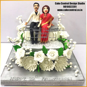 Parents Wedding Anniversary Cake Delhi Online