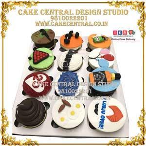 CupCakes for Men/Husband/ Birthday Delhi Online