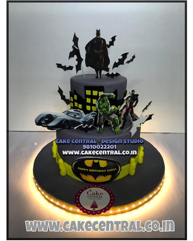 Batman theme Birthday Cake Delhi
