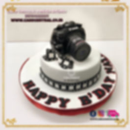 Camera_Photographer_Birthday_Cake_Design_Boyfriend_Delhi_Online