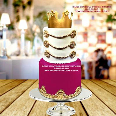 Royal Princess Cake Design Online in Delhi