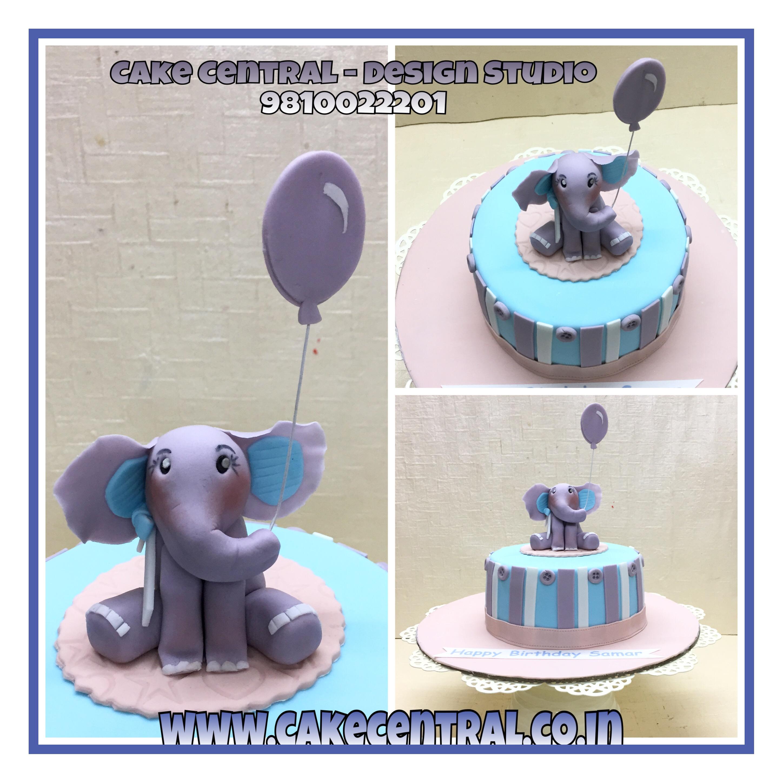 Baby Elephant Cake Delhi NCR Online