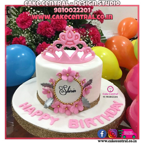 Elegent Princess Theme Cake in Delhi Online