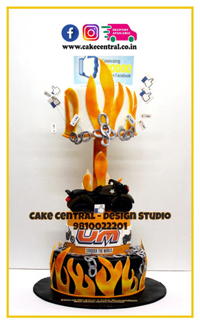 UM MoterCycle Corporate Celebration Cakes Delhi , Gurgaon , Noida | Corporate Events Cakes | Online Cake Delivery Delhi , Nodia , Gurgaon , Cake Central - Premier Cake Design Studio , New Delhi, Delhi