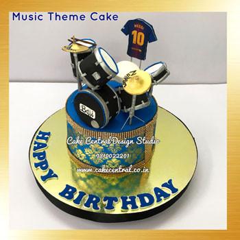 Drums Cake Delhi Online