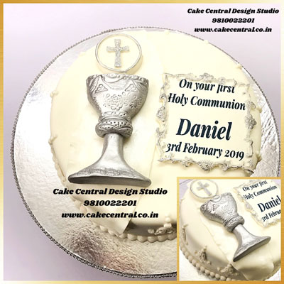 Holy Communion Cakes Online Delhi