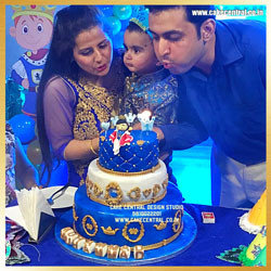 1st Birthday Prince Cake Delhi Online