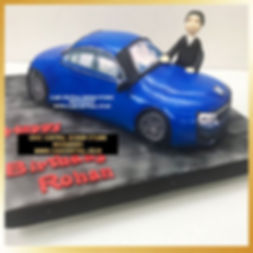 Car Shaped Cake for Dad in Delhi Online