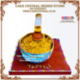 Ice Beer Bucket Theme Cake Design in Delhi, Noida & Gurgaon Online