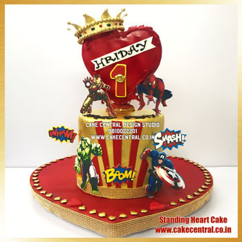 Marvel Avengers Themed Birthday Cake Delhi Online