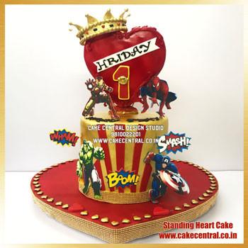 Marvel Avengers Themed Birthday Cake Delhi Online