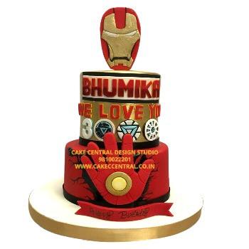 Iron Man Avenger Cake Design Delhi Online
