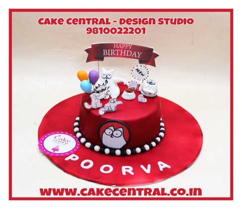 Cartoon Cat Cake Delhi