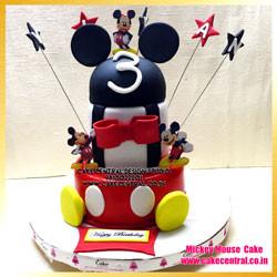 1st Birthday Mickey Mouse Cake Delhi Online