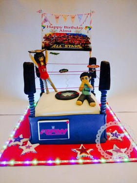 WWE Wrestling  Kids Birthday Cake online in Delhi