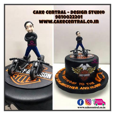 Harley Davidson Cake Delhi | Bollywood Cake |Bike Cake Delhi | Racing Bake Cake