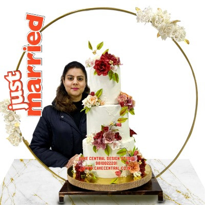 Best Floral Wedding Cake Designs