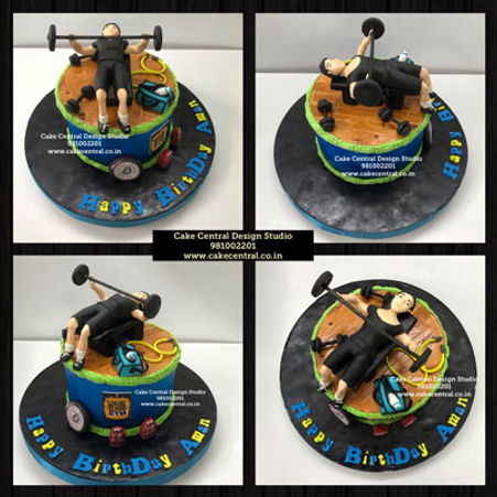 Gym_theme_cakes_Designs_for_Boyfriend_Birthday_Delhi_Online