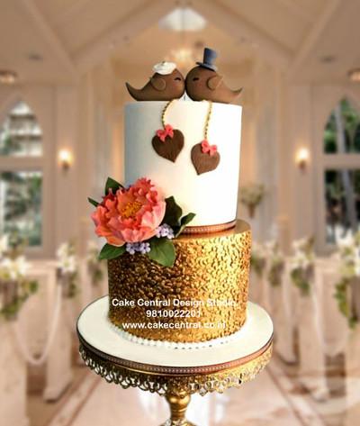Romantic Wedding Reception Cake Designs Online in Delhi Noida & Gurgaon