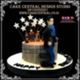 Drinking Pub /Bar Themed Birthay Cake Design in Delhi Online