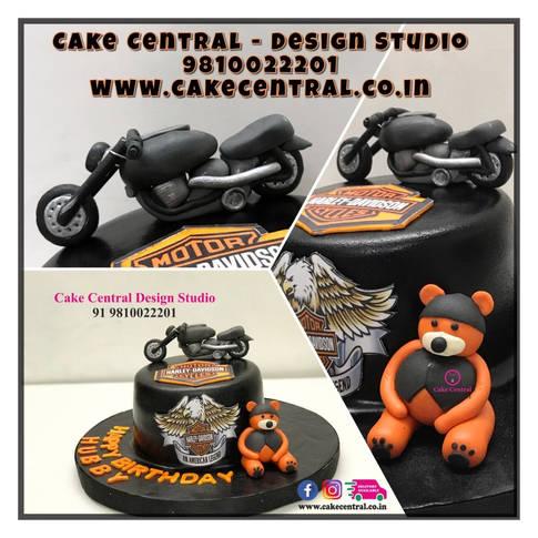 Bike Cake Delhi | Racing Bake Cake | Harley Davidson Cake Delhi