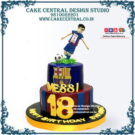 FCB Man United Football Soccer Cakes Delhi Cake Central Design Studio