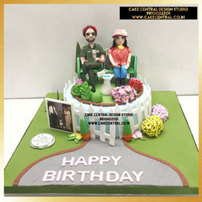 Army Man Themed Cake in Delhi Online  for Father's Birthday