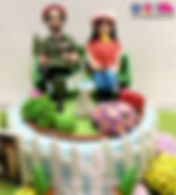 Retirement theme Designer Cake of Cake Central Design Studio. Best 3D Retirement Cakes of Delhi