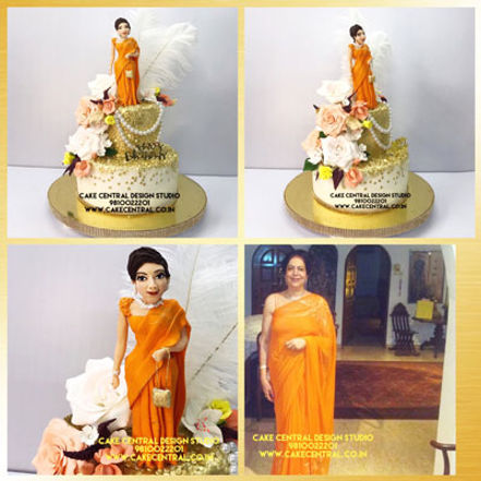 Birthday Cakes for Mother Online in Delhi