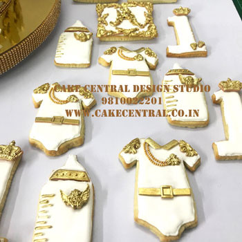 First Birthday Designer Cookies Delhi