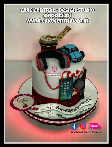 Beats HeadPhone Cake Delhi