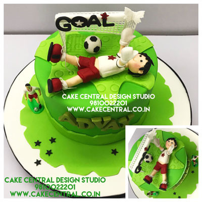 Football Goal Cakes in Delhi