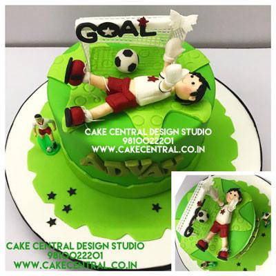 Football Goal Cakes in Delhi