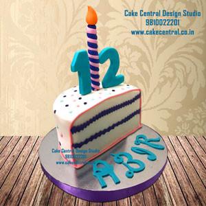 Half Birthday Cake Design Delhi Online