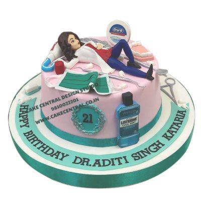 Best Birthday Cake for a Dentist in Delhi Online