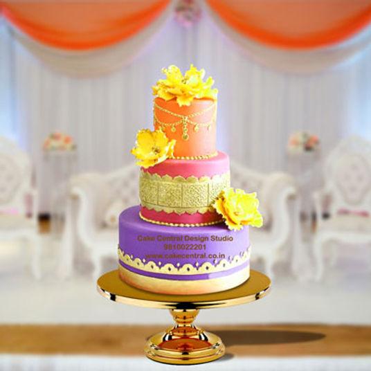 Mehndi Cakes In Delhi Online Amazing Mehndi Henna Cake Designs