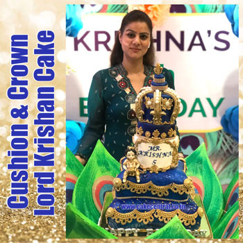 Happy Birthday Krishna Cake in Delhi Online