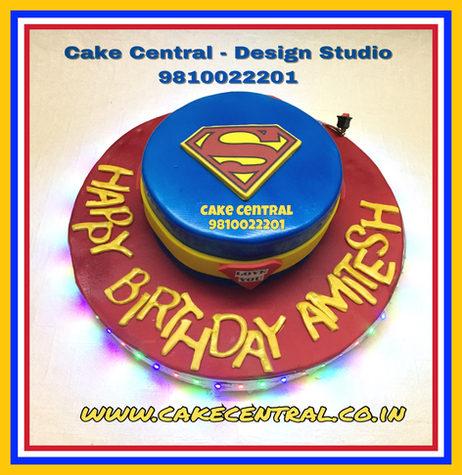 Superman Cake Delhi
