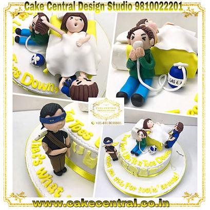 Funny_Baby_Shower_Cake_Delhi_Online