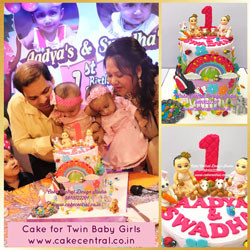 Best First Birthday Cakes in Delhi Online - Cake Central Design Studio