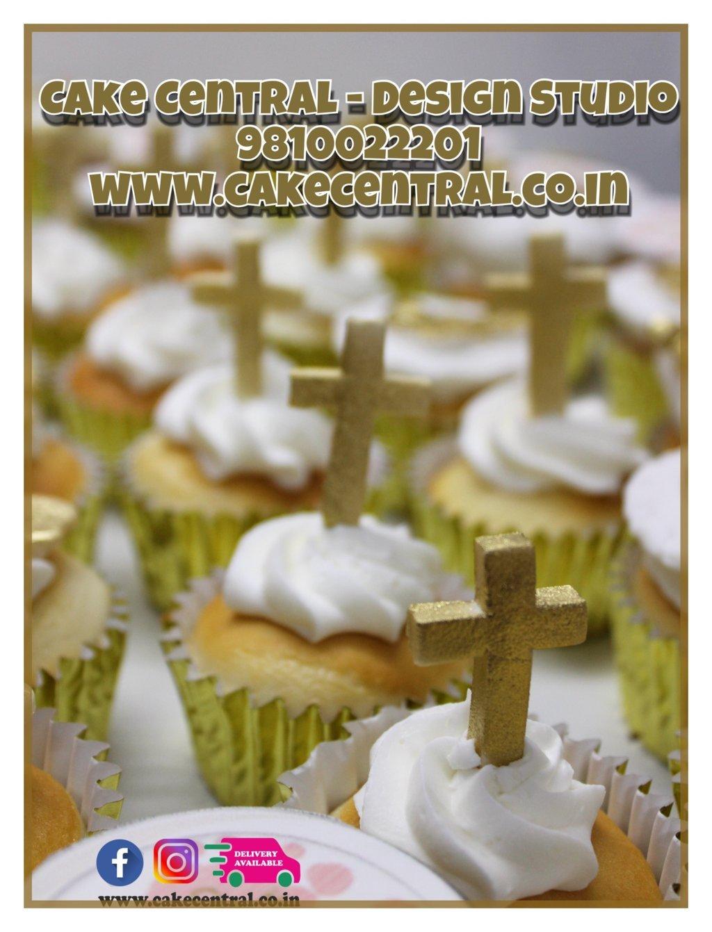 Cross Baptism Cupcakes Delhi