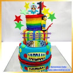 1st Birthday Doraemon Cake Delhi