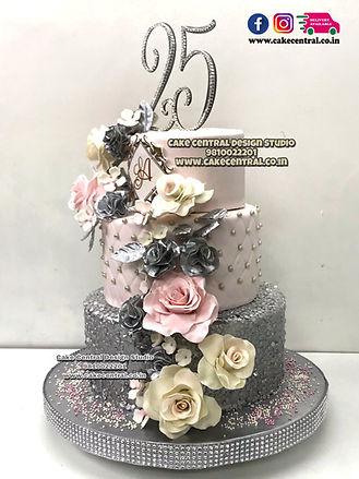 25h Anniversary Cakes in Delhi