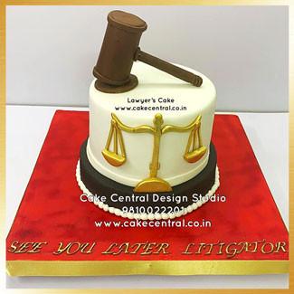 Lawyer Birthday Cake in Delhi Online