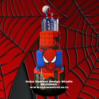 Spiderman Birthday Cake in Delhi