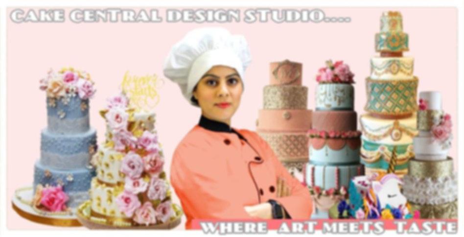 Master Chef Natasha Mohan - Cake Central Design Studio ,New Delhi. Fondant Cake Queen of Delhi